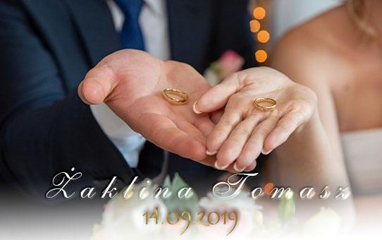 Zabezpieczony: Ślub Żaklina & Tomasz