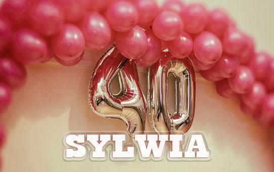 Zabezpieczony: 40 Urodziny – Sylwia