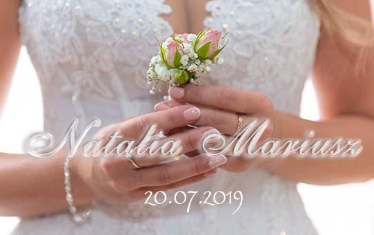 Zabezpieczony: Ślub Natalia I Mariusz