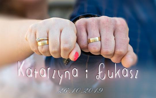 Zabezpieczone: Ślub Katarzyna & Łukasz