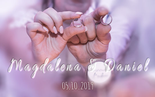 Zabezpieczony: Ślub Mgdalena Daniel